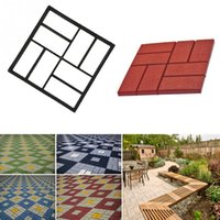 Wholesale High Quality DIY Plastic Path Maker Mold Paving Mold Manually Paving Mold Cement Brick Mold cm