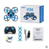 Wholesale 2 Colors JJRC H36 Mini Drone Ghz CH Axis GYRO RC Quadcopter Headless LED Mode One Key Return Helicopter CCA5458