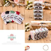 Wholesale a11c Japanese small deer cotton socks in tube socks warm lady Christmas stockings factory direct
