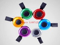 Wholesale Brand new Aluminum alloy Bicycle Bell Bike Bell Sound Resounding High Quality Bike Handlebar Ring Horn Color Optional