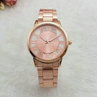 Wholesale Fashion Luxury Women Watches Bracelet Relojes Mujer Marca De Lujo Oro Gold Stainless Steel Wrist Watch For Gift