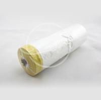 Wholesale 110cm m Per Roll Pre Taped Plastic Drop Cloth Masking Film Spray Paint Protection Films Plasti Dip Masking Film