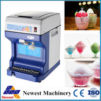 bar ice crusher - Electric Commercial Ice Crusher automatic industrial Use Ice Shaver machine ice slush maker for hotel restaurant bar coffee shop