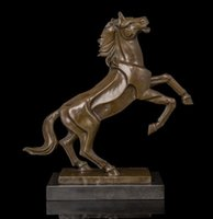 antique china values - Brass Crafted Human Vintage Abstract Horses Statue High Quality value metal sculpture Brass sculptures Horse Bronze Figurine Creative Arts a