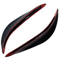 Wholesale pvc sprayer Car SUV Body Bumper Anti rub Strips Auto Exterior Scratches Protector Decoration Bar Corner Thickening Crash Bar PVC
