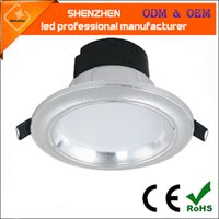 Wholesale high quality aluminum SMD Color Temperature Adjustable Office Ceiling LED DownLight integrated led down light