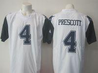 Wholesale Prescott Elite Jerseys rush legend Stitched white thanksgiving Elite Football Jerseys Drop Shipping Mix Order