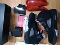 Wholesale Metallic Black Retro Top Qualiy Men size GOLD MEDAL Metallic OG black Retro basketball with box