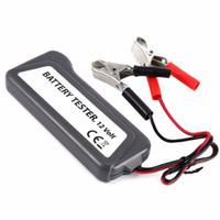 achat en gros de véhicules légers toyota-12V Digital Batterie / Alternateur Tester avec 6 LED Lights Display Car Vehicle Battery outil de diagnostic Drop Shipping