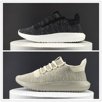 Wholesale Tubular Shadow D Running Shoes Women Men Boost Fly line Outdoor Sports High Quality Knit Sneakers Size