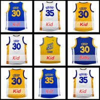 baby tennis - Youth Kevin Durant jerseys100 stitched Baby Stephen Curry jersey Youth Stephen Curry jersey Embroidery Kid jersey