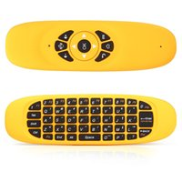 Precio de Distancia de vuelo-Venta al por mayor- C120 2.4GHz G Air ratón inalámbrico recargable inalámbrico de distancia de 10 metros mosca mouse teclado controlador remoto para Android TV Box Computer