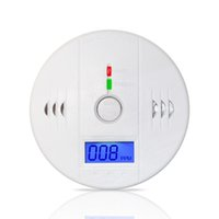 Wholesale High Sensitive LCD Digital Backlight Carbon Monoxide Alarm Detector Tester CO Gas Sensor Alarm for Home Security dB