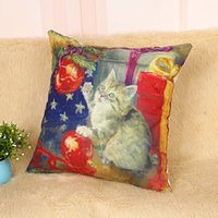 barley dogs - NEW BARLEY Christmas Dog and Cat Pillow Cover