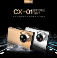 Wholesale REMAX inch HD screen rearview twin camera wide angle driving recorder p CX car dvr hot sales