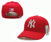 Wholesale A of color in the yankees hip hop MLB quickly recover hat major league baseball cap New York New York unisex exercise can regulate bone