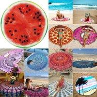 adult baby shopping - 12 Patterns Round Beach Towels Mandala Boho Table cloth Beach Towel Serviette Covers Beach Shawl Drop Shopping