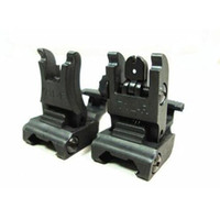 arms front sight - New A R M S L ARMS Polymer Front And Rear Flip up Folding Sight Black r254