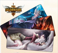 Wholesale Thickening gaming mouse pad The game The keyboard