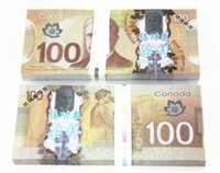 Wholesale Earliest edition Money banknote Canada or movie props and Education bank staff training paper fake money copy money children gift