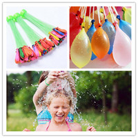 Wholesale 2017 Colorful Bunch Water Balloons Children Game Toys Amazing Magic Sport Water Filled Balloons bunches balloons