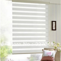 Wholesale Popular zebra blinds double layer roller blinds ready made curtain curtain fabric curtain window curtain