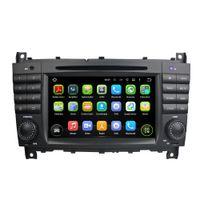 BENZ C-CLASS W203 W467 GLASS 2008-2011 Fit Mercedez Benz C-Class W203 2004-2007 CLC G Class W467 2008-2011 Android 5.1.1 1024*600 HD car dvd player gps radio 3G wifi BT dvr OBD2