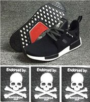 Wholesale NMD XR1 x Mastermind Japan Black White PK MMJ BA9726 Men Sneakers Shoes With shoes Box