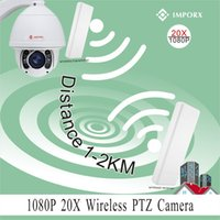 Wholesale IMPORX X zoom P MP auto tracking km wireless wifi ptz ip camera support phone view P2P with wireless bridges