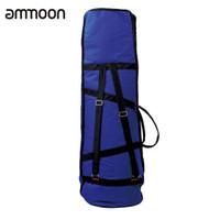 alto trombones - D Water resistant Trombone Gig Bag Oxford Cloth Backpack Adjustable Shoulder Straps Pocket for Alto Tenor Trombone