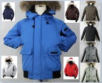 Wholesale goose down jacket men s thicken wind proof keep warm rain proof short goose down winter coats colors available
