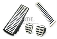 Wholesale Interior Parts Pedals Stainless Steel Car Footrest clutch brake gas pedal Manual Transmission MT Pedal for VW Golf MK6 Jetta