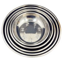 Wholesale Thickening stainless steel bowl soup pots rice bowl fanpen bowls stainless steel bowl