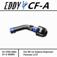 Wholesale Fit For Subaru Forester Fine Quality China Brand EDDYSTAR EDDY CF A Carbon Fiber Cold Air Intake System Air Filter