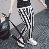 Wholesale New Fashion Baby Girls Leggings Pants Stripes Spring Summer Cotton Pants Cute Western Children Tights