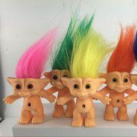 Wholesale 2016 cm Troll Doll action figure Leprocauns Dam doll Original Monster Doll littlest pet shop cat toy for children hot toy