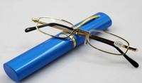 Wholesale Brush pot presbyopic glasses resin lens glasses