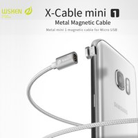 Wholesale Original Wsken X Cable Mini1 Nylon Braided Line Magnetic Cable For iPhone Samsung Xiaomi Micro USB Phone