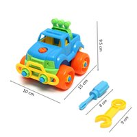 best car drivers - Disassembly Assembly Classic Car Puzzle Toys With Screw Driver Tools Best Gift For Children