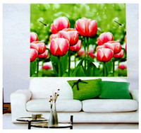 Wholesale BLACKOUT THERMAL WINDOW TULIP PATTERNED ROLLER BLIND SHADE BLOCK SUN W X H DROP