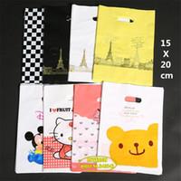Precio de Torre eiffel al por mayor del partido-Venta al por mayor - bolsos blancos del regalo de la torre Eiffel de la alta calidad de la joyería blanca del regalo que empaquetan los pequeños bolsos del regalo que casan la decoración de la fiesta de cumpleaños