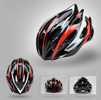 Wholesale Giant mountain bike helmets a integrated aerodynamic barge lightsome safe high quality cycling helmet equipped men and women