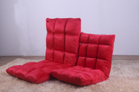 Wholesale 6 gears Lazy sofa couch couch rice small single sofa chair folding bed floor window on the chair Fashion Mini sofa