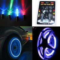 Wholesale B0021 Patent Brand Tire Flash Light Bike Tyre Wheel LED Car wheels Lighting sets