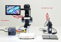 av watches - SmartPhone Watch Repair X X LCD AV Zoom video Microscope lens Stand AV camera LED ringlight LCD screen