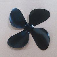 Wholesale Replacement extra black fan mini blade to fix broken heat powered stove fan