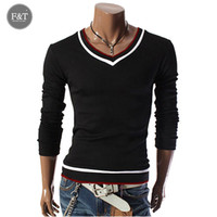 asian jumper - Asian Size High quality Brands Twist sweater knitting Winter Men s V Neck Cotton Sweater Jumpers pullover sweater men