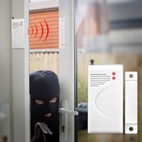 Wholesale 315 MHz magnetic door sensor Home Wireless Door Sensor Detector for Home Alarm Security System