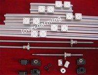ballscrew bearing - 6 SBR12 mm Linear Rail Ballscrew RM1204 mm sets BF10 BK10 end bearing coupler kit