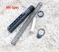aluminium commercial - Commercial Mil Spec Buffer Tube Kit Aluminium Receiver Extension Tube Kit